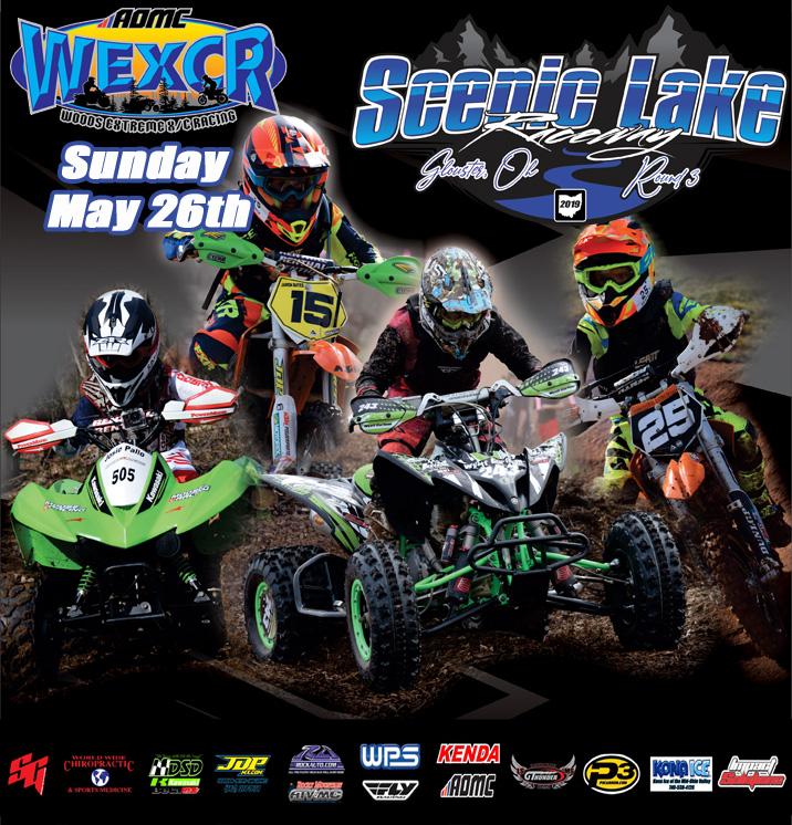 WEXCR 19 Scenic Lake Raceway R3 Flyer copy