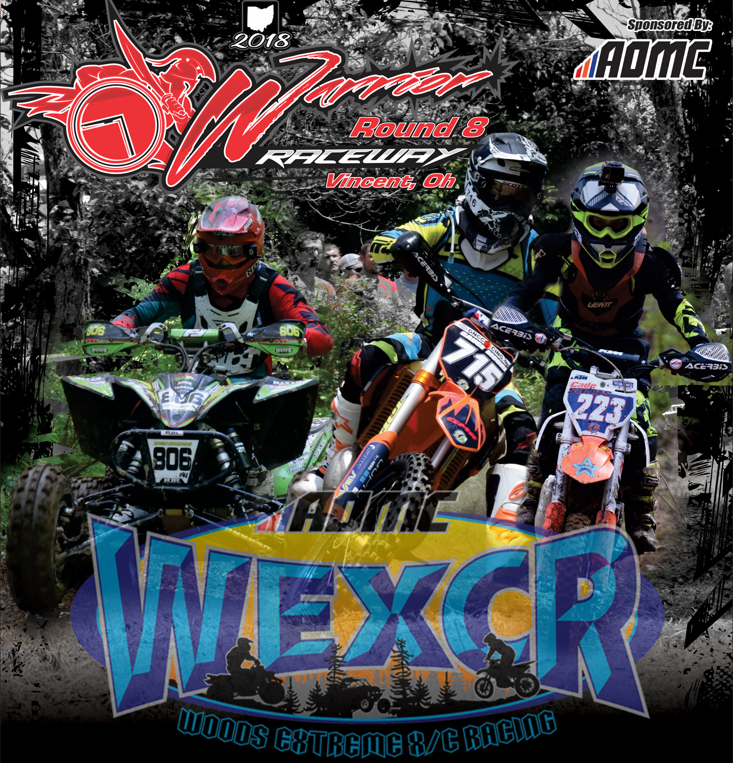 WEXCR Rnd8 Warrior Raceway Plaques Flyer copy