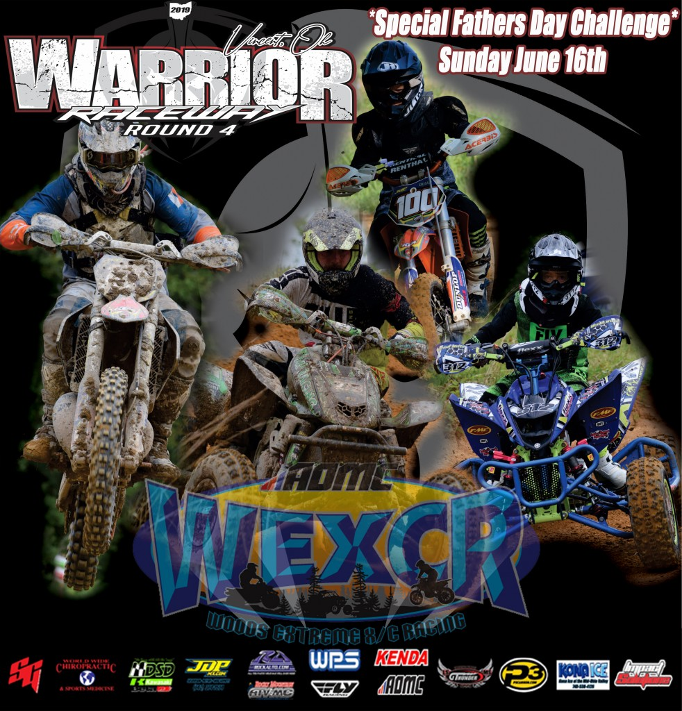 WEXCR 19 Warrior Raceway R4 Flyer copy