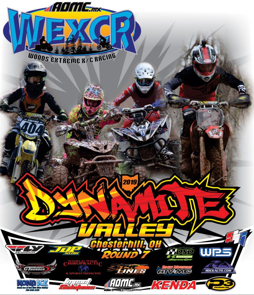 WEXCR 19 Dynamite Valley R7 Tshirt