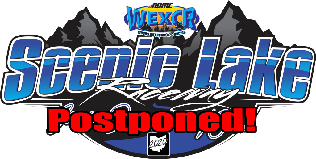 WEXCR 20 Scenic Lake Raceway Postpone Logo copy